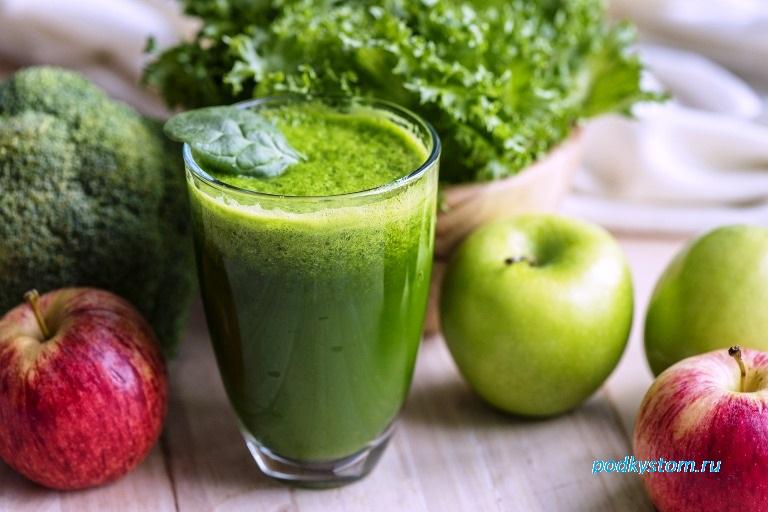 Свежий сок из яблок