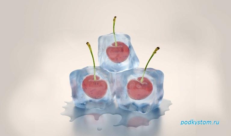 Мороженная вишня