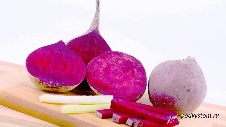 Рецепты из свёклы лечебные свойства