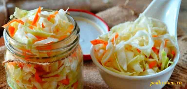 Рецепт-маринованной-капусты